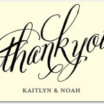 Deal of the Day: Tiny Prints Thank You Notes