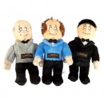 Win a Set of Three Stooges Dog Toys