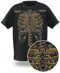 Cool Steampunk Skeleton T-shirt